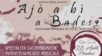 SABATO 28 APRILE 2018 - AJO' A BI' A BADESI