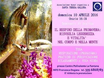 10 aprile - Il Respiro della Primavera