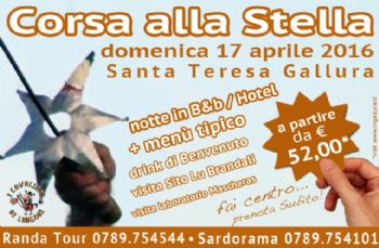 """PACCHETTO """"WEEK END APRILE IN GALLURA"""""""