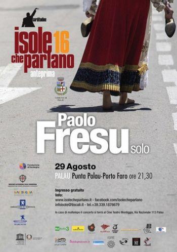 Paolo Fresu - Palau 2016